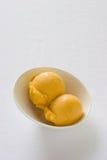 Mango Sorbet Stock Photography