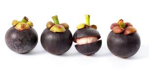 Mango-steen tropical fruit Stock Photography
