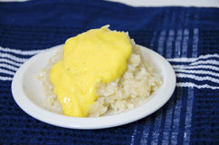 Mango sticky rice Stock Photography