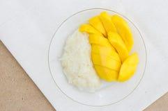 Mango with Sticky Rice. Some Mango with Sticky Rice Stock Image