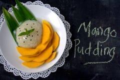 Mango with sticky rice. Thai Dessert Stock Photography