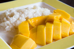 Mango Sticky Rice Stock Image