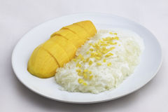 Mango Sticky Rice Stock Images
