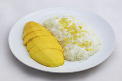 Mango Sticky Rice Royalty Free Stock Photo