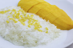 Mango Sticky Rice Royalty Free Stock Photos