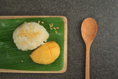 Mango Sticky Rice Stock Photos