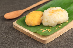 Mango Sticky Rice Stock Images