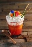 Mango Strawberry Daiquiri Stock Photo