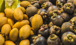 Mango. Tai tailand fruit yellow food market yammi colors Stock Images