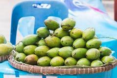 Mango in threshing baske Royalty Free Stock Photography
