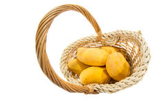 Mango trägt III Früchte Lizenzfreie Stockbilder