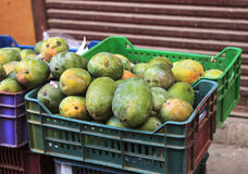 Mango in traditional market Stock Image