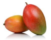 Mango twee royalty-vrije stock afbeeldingen