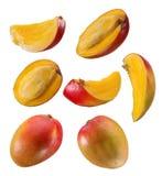 Mango und Scheiben Stockbilder