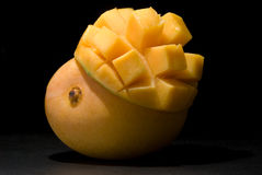 Mango under spotlight Royalty Free Stock Image