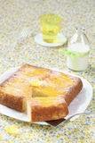 Mango Upside Down Cake Royalty Free Stock Photos