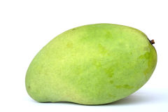 Mango verde dolce isolato Fotografia Stock Libera da Diritti