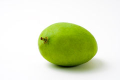 Mango verde entero Foto de archivo libre de regalías