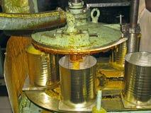 Mango-verwerkende fabriek Stock Foto