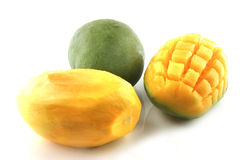 Mango on white Royalty Free Stock Images