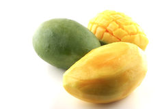 Mango on white Stock Photography