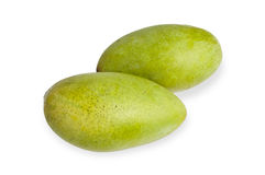 Mango  on white Stock Image