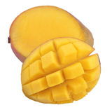 Mango on white background Royalty Free Stock Images