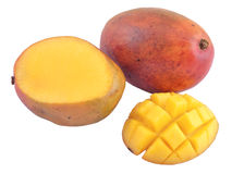 Mango on a white background Stock Photography