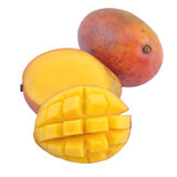 Mango on a white background Royalty Free Stock Photography