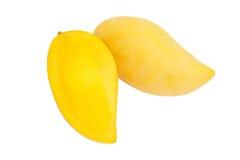 Mango on white background Royalty Free Stock Images