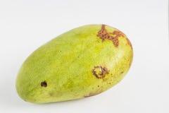 Mango on white Stock Photo