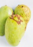 Mango on white Royalty Free Stock Image