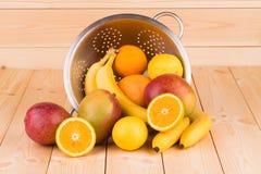 mango y agrios maduros Fotos de archivo libres de regalías