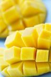Mangoes. A closeup shot of ripe and juicy mangoes Royalty Free Stock Photo