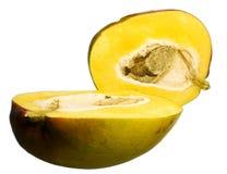 Mangoes. Isolated on white background Royalty Free Stock Photo