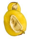 Mangoes. Isolated on white background Royalty Free Stock Photos