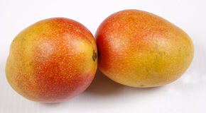 Mangoes. Fresh and ripe mangoes to eat Stock Photography