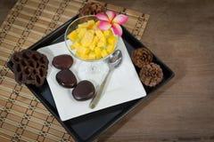 Mangoes Stock Photo