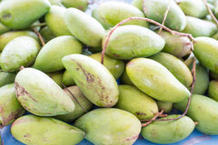 Mangoes in thai market Stock Images