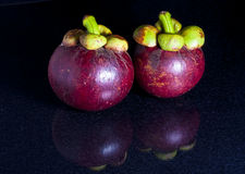 Mangoesteen lizenzfreie stockfotografie