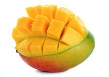 Mangofrucht auf Weiß Stockbilder