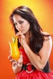 Mangofrucht Daiquiri Lizenzfreie Stockbilder