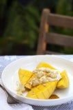 Mangofrucht-Frühstück Stockfoto