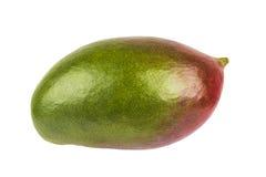Mangofrucht lokalisiert auf weißem Hintergrund Lizenzfreie Stockfotos