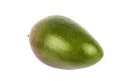 Mangofrucht lokalisiert auf weißem Hintergrund Lizenzfreie Stockfotografie