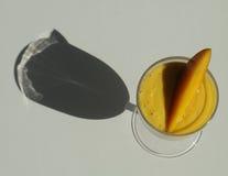 Mangofrucht Smoothie Stockfoto