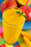 Mangofrucht Smoothie Lizenzfreie Stockbilder