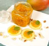Mangofruchtmarmelade Stockbild