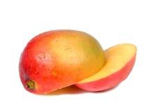 Mangofruchtstücke Stockbild