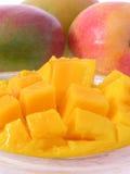 Mangofruchtteller Stockfoto
